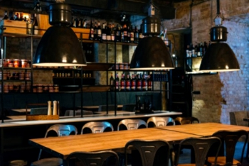 lieu convivial dans un restaurant/bar