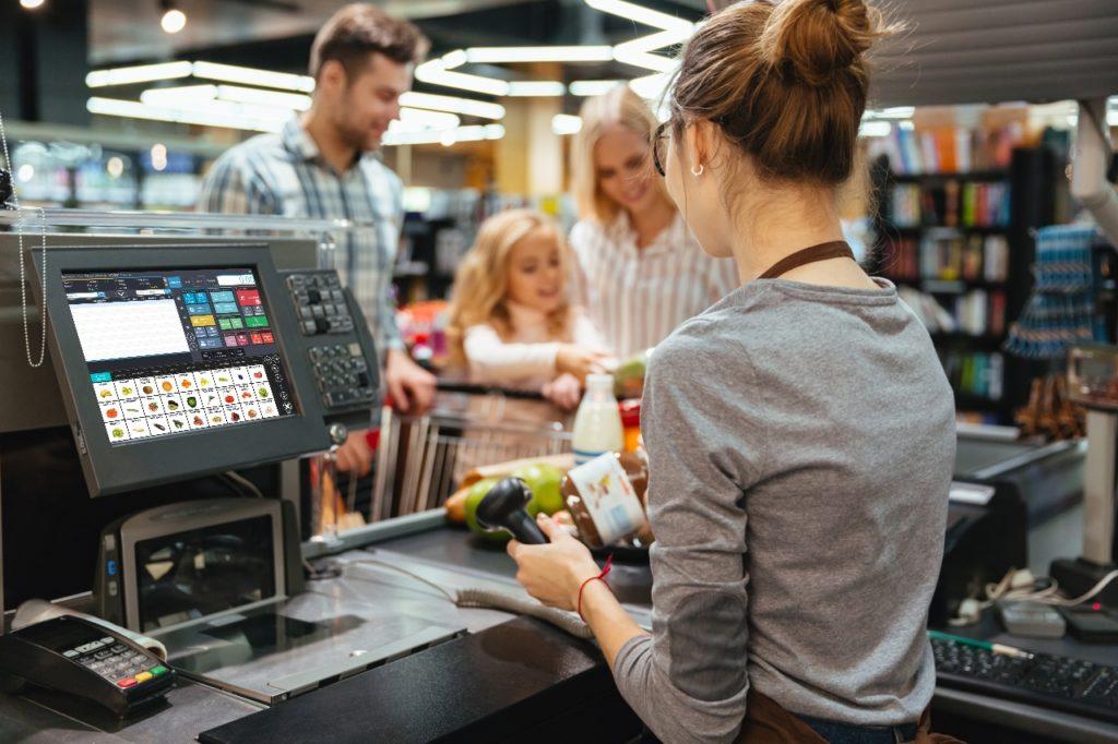 caisse enregistreuse tactile pour les commerces de détail