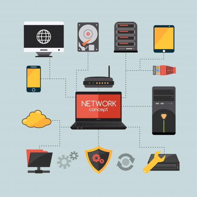 matériel réseau : serveur